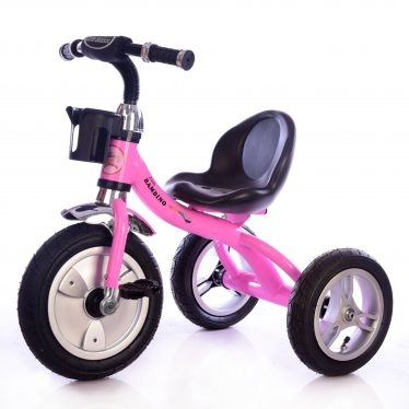 pink girls trike 135 little bambino