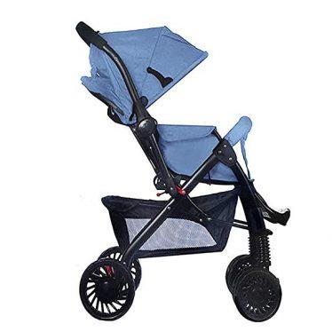 blue 859 pram stroller