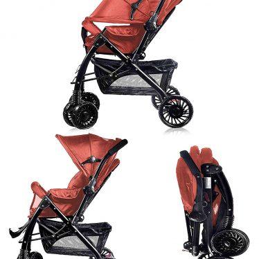 red pram little bambino