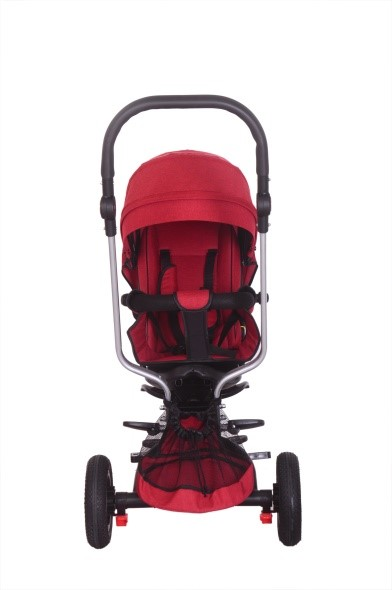 Front facing trike red