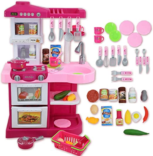 ppink kitchen little bambino