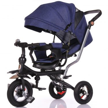 kids blue trike 5 in 1