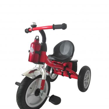 red 2 in 1 trike